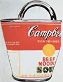"Soup Can Bag by Andy Warhol 30""x23.5"" Art Print Poster Vintage"