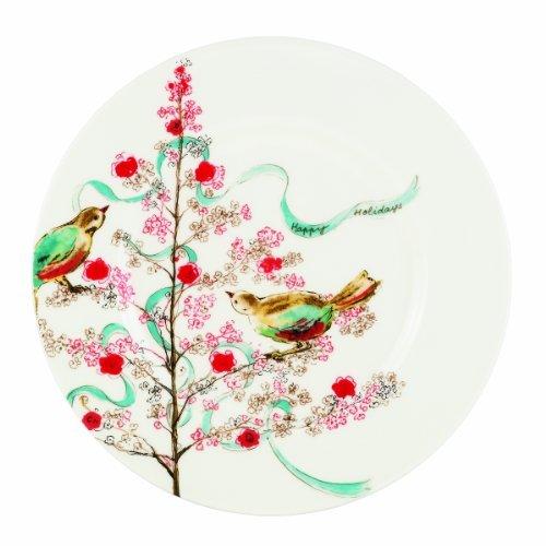 Lenox Simply Fine Chirp temporada ensalada/postre Plate by Lenox