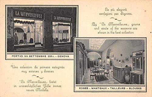 La Merveilleuse Ladies Clothing Store Advertising Vintage Postcard J927890