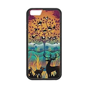 iPhone 6 Plus 5.5 Inch Cell Phone Case Black NATURAL WONDERS HY2409569