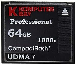KOMPUTERBAY 2 PACK - 64GB Professional COMPACT FLASH CARD CF 1000X 150MB/s Ex...