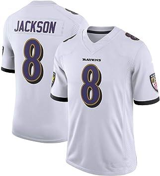 Jackson # 8 Rugby Jersey Jersey de fútbol Jersey Mesh ...
