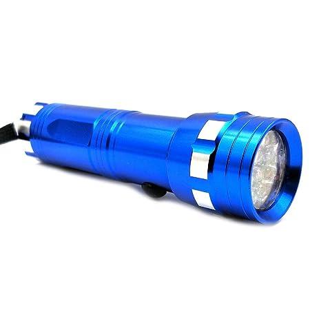 Kit de 14 luces LED con detector de fugas, lentes de seguridad con aceite fluorescente