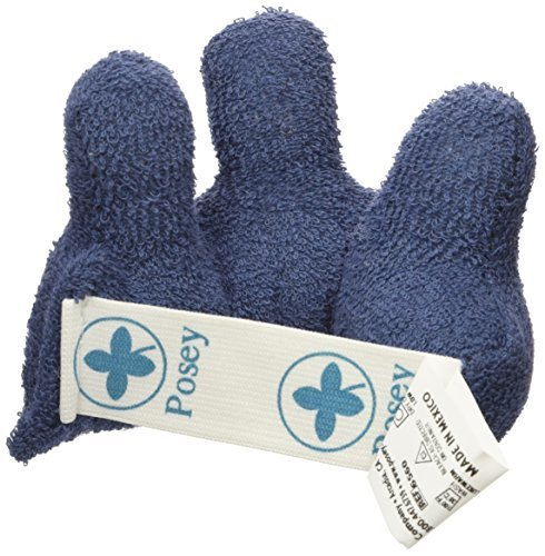 (Posey Posey Finger Contracture Cushion Keeps Fingers Separated Cotton 3X5 - Model 6560 by Posey)