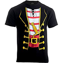 Pirate Buccanneer | Jumbo Print Novelty Halloween Costume Unisex T-shirt-Adult,M