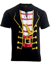 Pirate Buccanneer   Jumbo Print Novelty Halloween Costume Unisex T-shirt