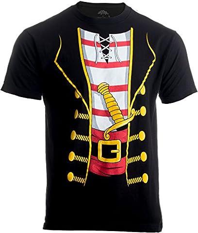 Pirate Buccanneer | Jumbo Print Novelty Halloween Costume Unisex T-shirt-Adult,XL - One Industries Graphics Kits