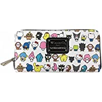 7de1568ba5e6 Loungefly x Hello Kitty Sanrio Character AOP Zip-Around Wallet (One Size