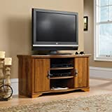 Sauder Harvest Mill Entertainment Credenza for TVs up to 47, Abbey Oak Finish by Sauder