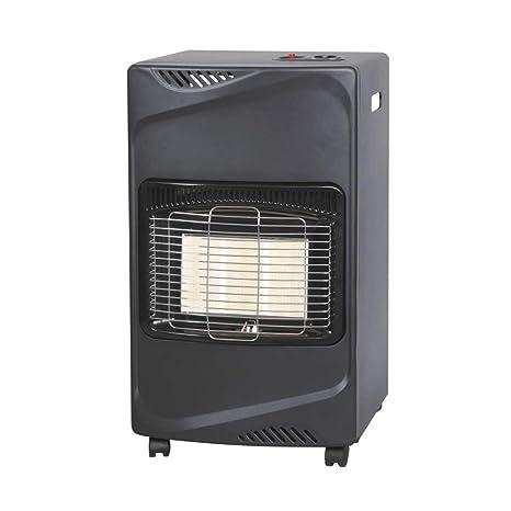 estufa de gas licuado Butano infrarrojos 4100 W Bajo consumo 3 posiciones térmicas
