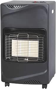 Estufa de gas GPL butano infrarrojos 4100 W bajo consumo 3 regulaciones térmicas