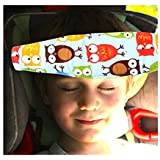 Aishine Colored Toddler Car Seat Neck Relief and Head Support Fits Easily Installation On Most Convertible Seats Offers Protection and Safety to Toddlers and Kids