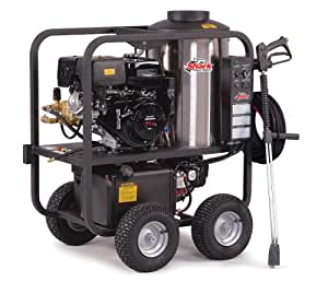 Shark Pressure Washers SGP-353037E 3, 0 Psi 3.5 GPM Honda Gas Powered Hot Water Commercial Series Washer