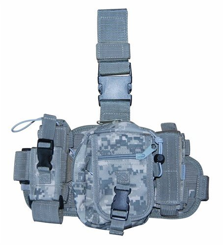 - Airsoft / Hunting / Paintball ACU Camo Molle Gear Utility Leg Rig
