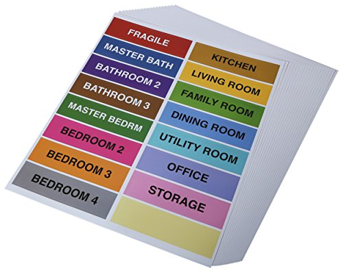 Color Coding Labels - Fragile Stickers and Labels - Hat Shipping Box