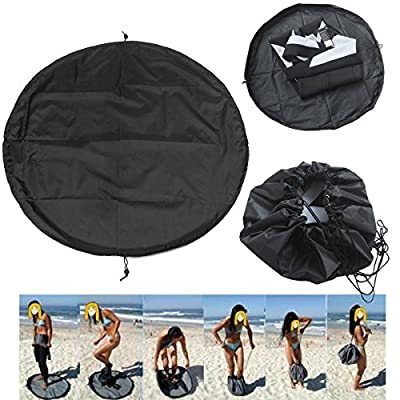 Wetsuit Changing Mat and Dry Carry Bag - Large Waterproof Surf Bag with Drawstring, Dive Bag,Surfing Diving Wetsuit Storage!