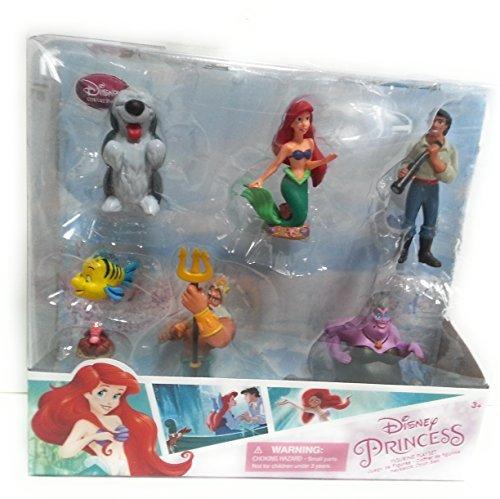 Disney Princess Exclusive Little Mermaid Figurine 7 Piece Se