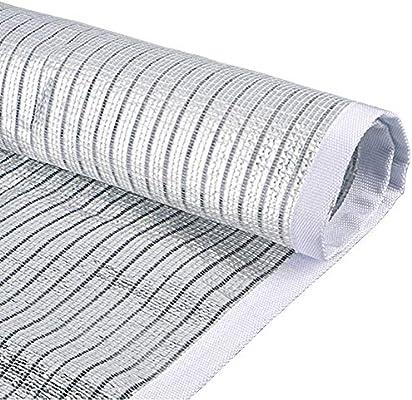 Malla Sombra, Tela de Aluminio for el Patio Que refleja el paño de ...