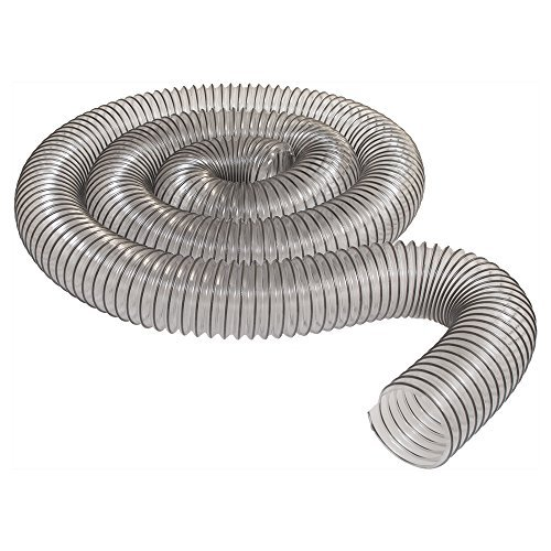 2-1/2 x 10' Ultra-Flex Clear Vue PVC Hose - MADE IN USA! by DuraVent Dura Vent Hose