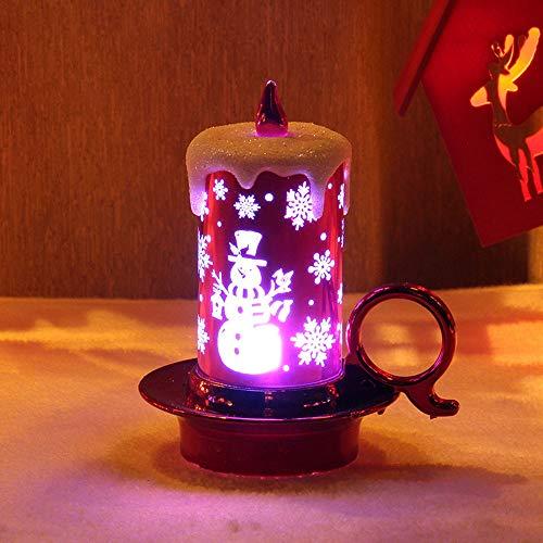 Nightlight,YJYDADA 12 pcs Halloween Candle with LED Tea Light Candles for Halloween Decoration Part