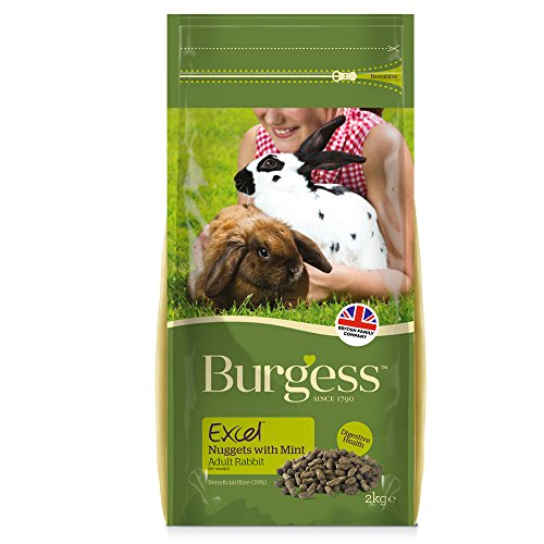 Burgess Pet Care Excel Adult Rabbit 2Kg (Rabbit Excel Burgess)