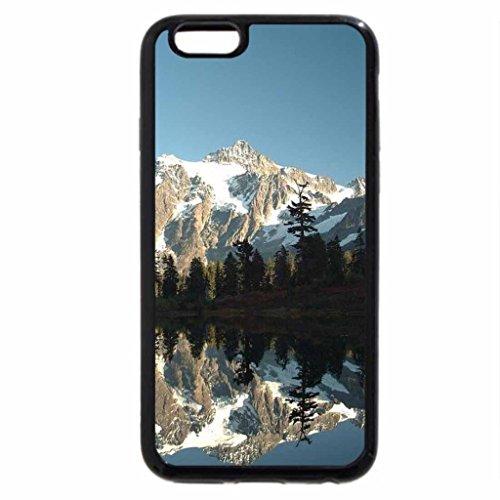 iPhone 6S / iPhone 6 Case (Black) Mount Shuksan