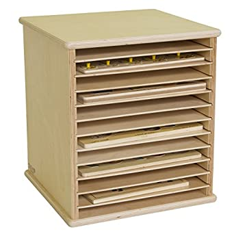 Wood Designs WD33200 Tabletop Puzzle Rack, 16 X 15 X 14u0026quot; ...