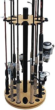 Porte-Canne /à p/êche,Portable Fishing Rod Holder pour P/êche rosemaryrose Support pour Canne /à P/êche en Acier