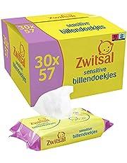 Zwitsal Sensitive Billendoekjes voor de gevoelige babyhuid - 30 x 57 stuks - Voordeelverpakking
