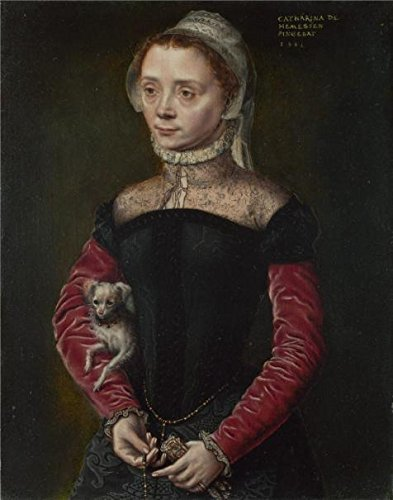 Turbo Snail Costume For Sale ('Catharina Van Hemessen - Portrait Of A Lady,1551' Oil Painting, 12x15 Inch / 30x39 Cm ,printed On High Quality Polyster Canvas ,this Replica Art DecorativePrints On Canvas Is Perfectly Suitalbe For Foyer Decoration And Home Gallery Art And Gifts)