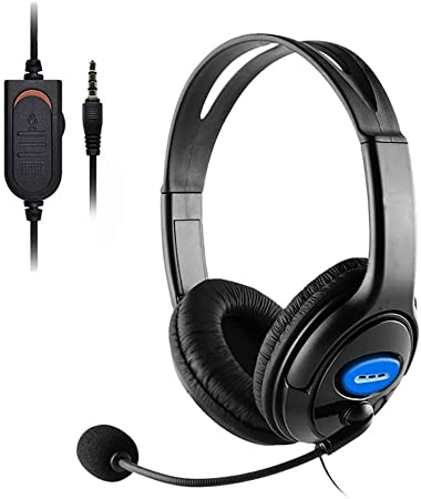 Plug Gaming Headset with Mic for Xbox One 3.5mm Wired Over-head ...