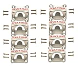 EIGHT PACK – Extra Heavy Duty and Stronger with 4 Mounting Holes, Soula Designs Wall Surface Mount Beer and Soda Bottle Opener, Free Hardware Included, Mounts Easily Review