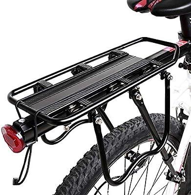 JXS-Outdoor Parrilla Trasera de Bicicletas de Carga - de Ajuste ...