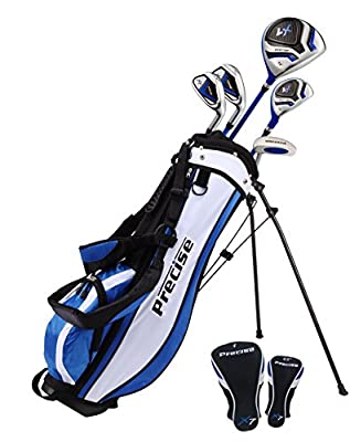 PreciseGolf Co. Precise X7 Junior Complete Golf Club Set for Children Kids - 3 Age Groups Boys & Girls - Right Hand & Left Hand! from Precise Golf