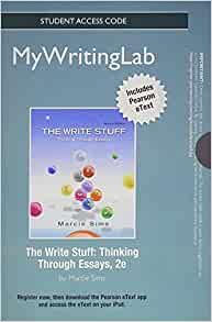 The write stuff thinking through essays