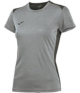Joma - Camiseta Campus II muj.Gris Melange Claro m c para Mujer 23a40e482e7