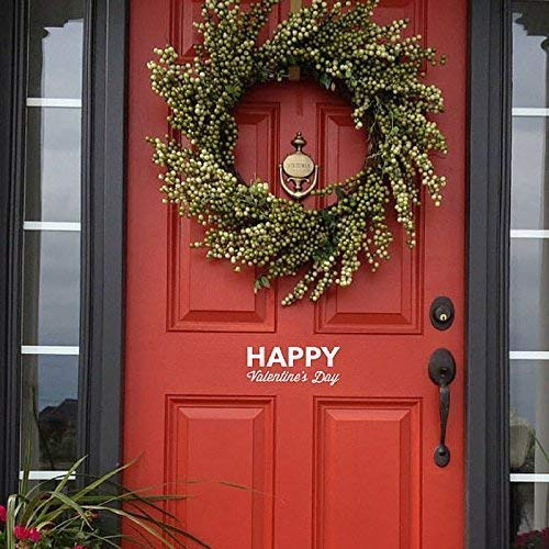 Amazon Com Happy Valentine S Day Front Door Decal Home Decor Handmade