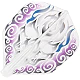 ダーツフライト【フィットフライトエアー×クロスデザイン】鬼火 紫 シェイプ