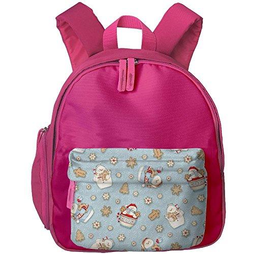 - Cocoa Christmas Cool Lightweight Printing Shoulders Kid' Bag For Girl School Kindergarten Backpacks 12.5