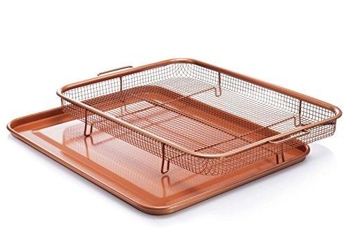 Gotham Steel 1683 Crisper tray, XXL, Brown