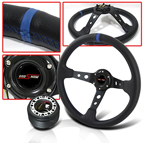 NISSAN 300ZX INTERIOR DRESS UP COMBO STEERING WHEEL + ADAPTER HUB + HORN BUTTON