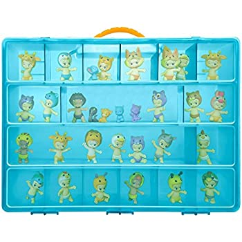Life Made Better Toy Storage Organizer - Compatible With Twozies Toys - Durable Carrying Case- Blue