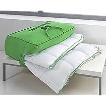 Ahorra en Sabanalia - Edredón nórdico, fibra 300 g Xtreme (varios tamaños disponibles), cama de 90 cm - 150 x 220 cm y más