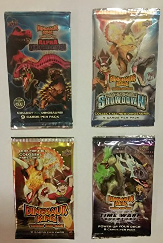 Dinosaur King Trading Card Game (4) Packs :