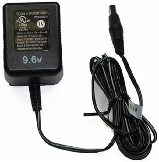 Amazon.com: Black & Decker cd9602 9,6 V Drill OEM Cargador ...