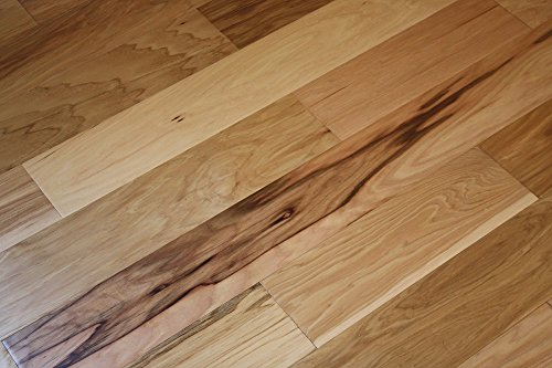 Elk Mountain Hickory Natural 5 x 3/8 Hand Scraped Engineered Hardwood Flooring FH231 SAMPLE (Hickory Wood Flooring compare prices)