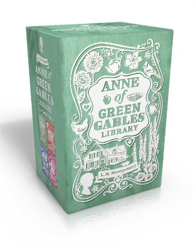 Anne of Green Gables Library: Anne of Green Gables; Anne of Avonlea; Anne of the Island; Anne's House of Dreams (An Anne of Green Gables Novel) by Montgomery, L. M. (2014) Paperback