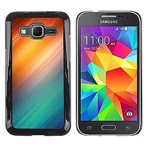 "Pulsar Snap-on Series Teléfono Carcasa Funda Case Caso para Samsung Galaxy Core Prime / SM-G360 , Resumen Policías Policía Azul Rojo"""