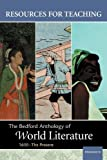 The Bedford Anthology of World Literature, Wayne R. Davis, 0312405154