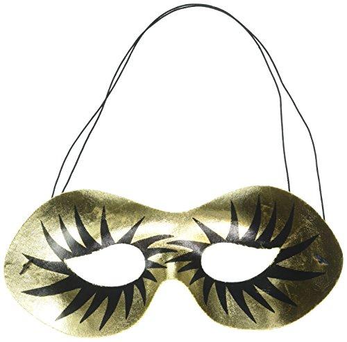 Forum Novelties 54899 Half Maquillage Gold Mask